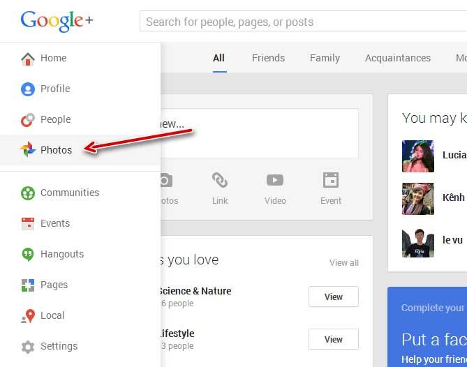 латиноамериканская как удалить все фото с гугл плюс общем