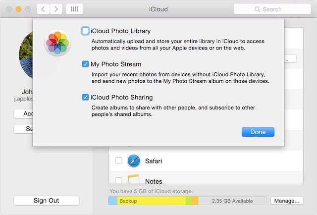 Photo Stream Mac'ten Fotoğrafları Silme