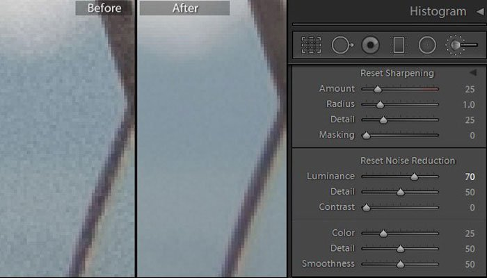 Lightroom Noise Removal