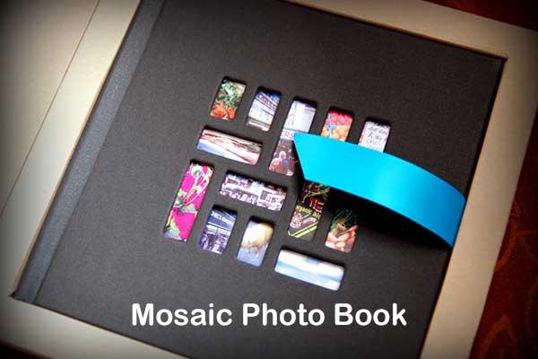 Mosaic Photo Books Banner