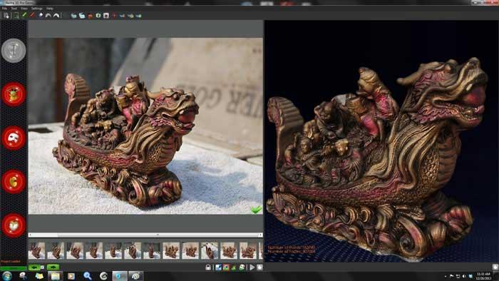 Converta fotos 2D em modelos 3D com Neitra 3D Pro