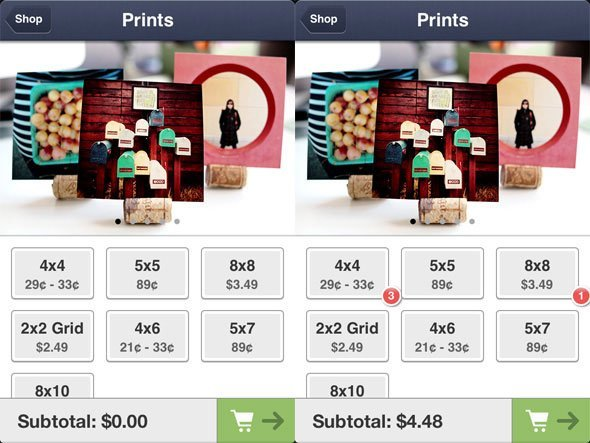 PostalPix Photo Prints App Screenshot