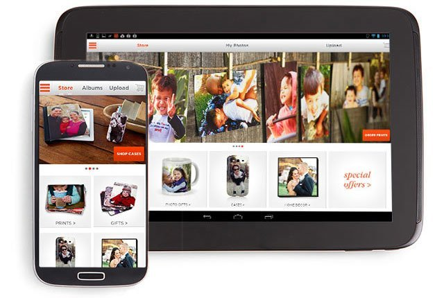 Shutterfly App Screenshot