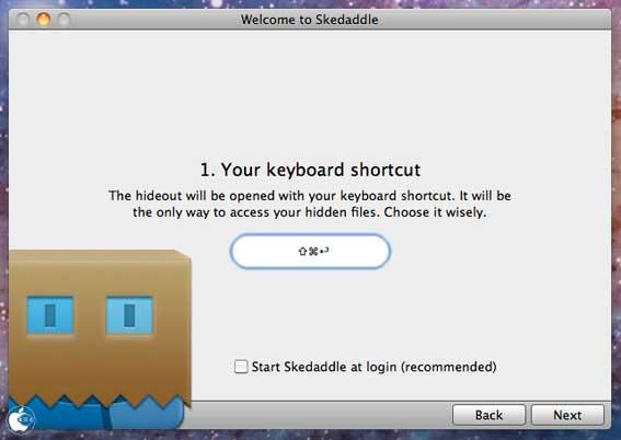Capture d'écran Skedaddle