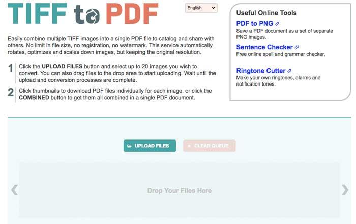 TIFF轉PDF