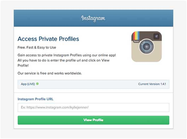 See Private Instagram Photos with InstaViewy