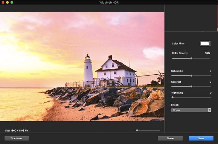 Προσαρμογή φωτογραφιών HDR σε HDR