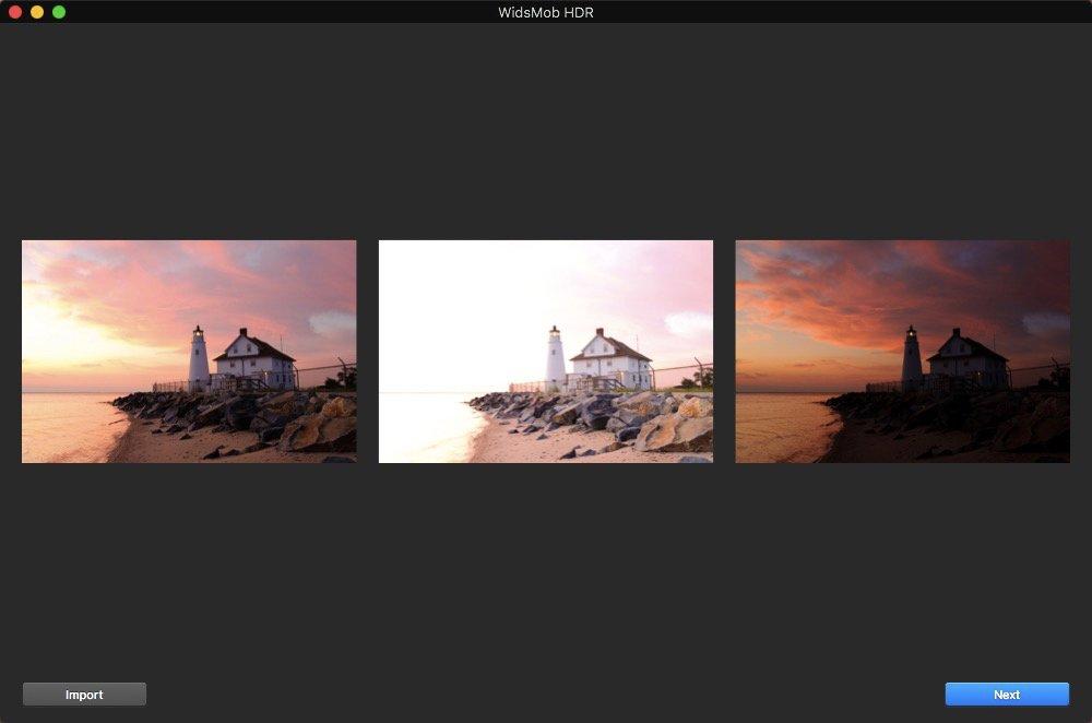 Auto Align HDR Photos