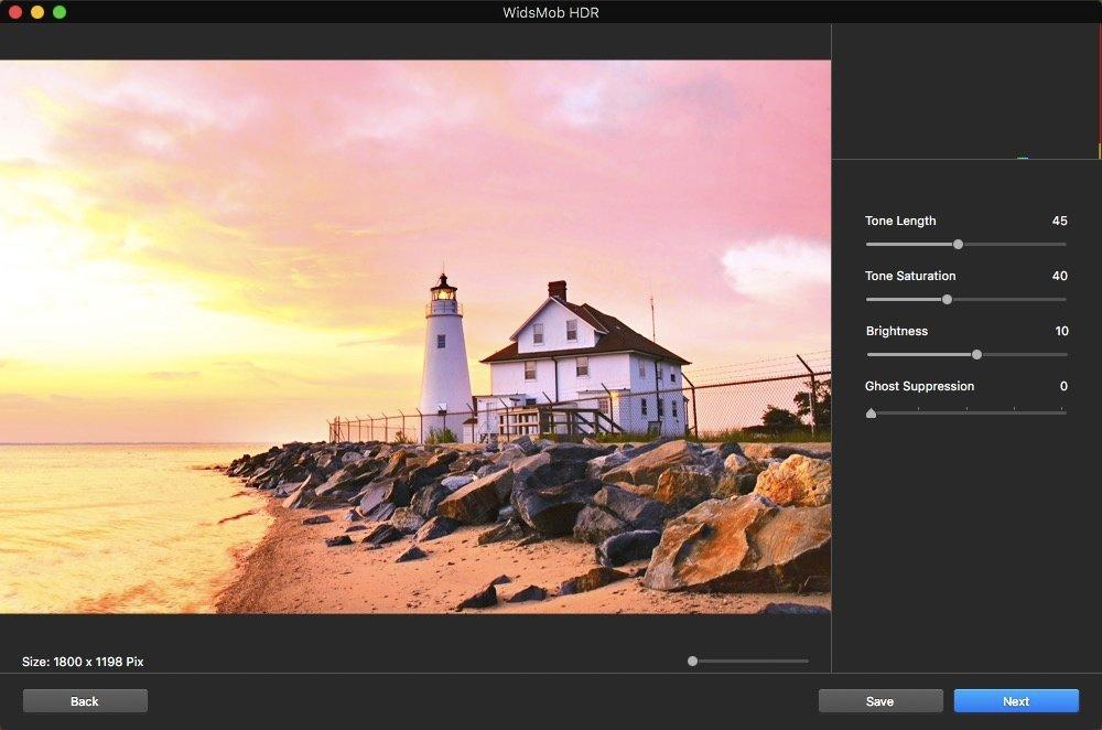 Allineamento automatico alle foto HDR