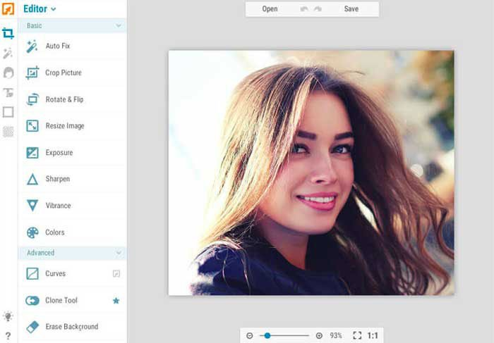 Blemish Remover Online - iPiccy Photo Editor