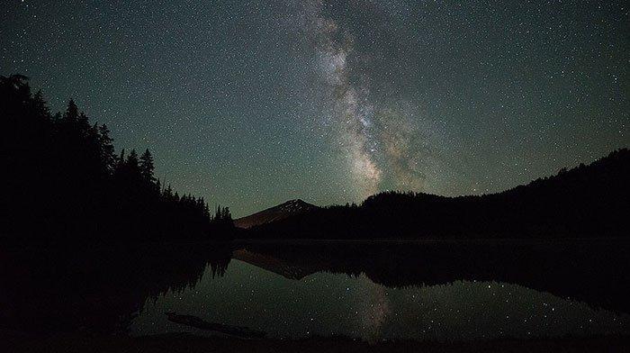 Milchstraße Lärm vor