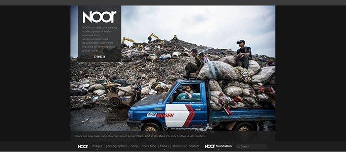 Website vergelijkbaar met Magnum Photos - NOOR-foto