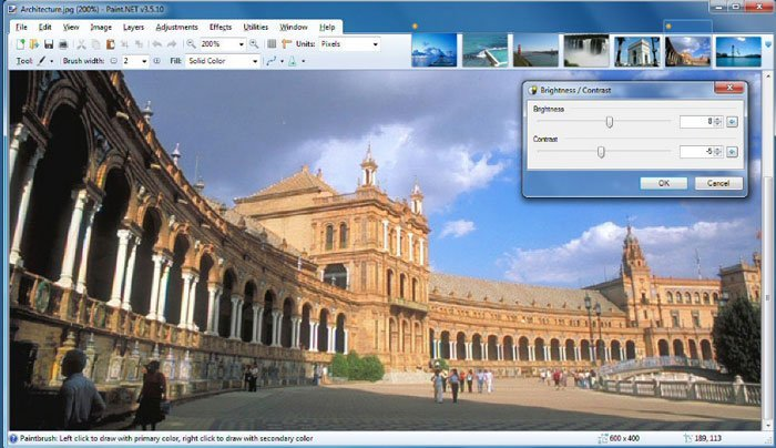 Photo Enhancer Software - Paint.Net