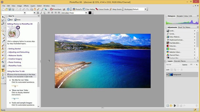 Photo Enhancer Software - PhotoPlus