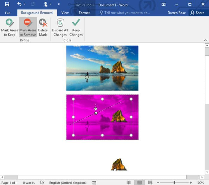 Remove Background from Photos in Microsoft Word