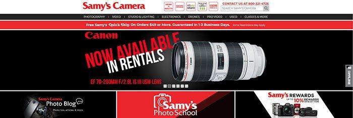 Fotocamera di Samy