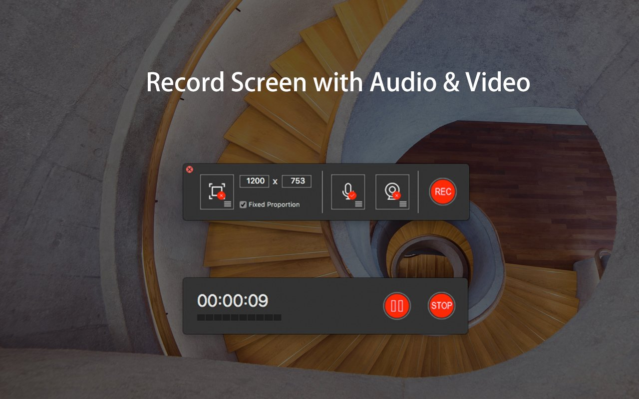record audio video capture