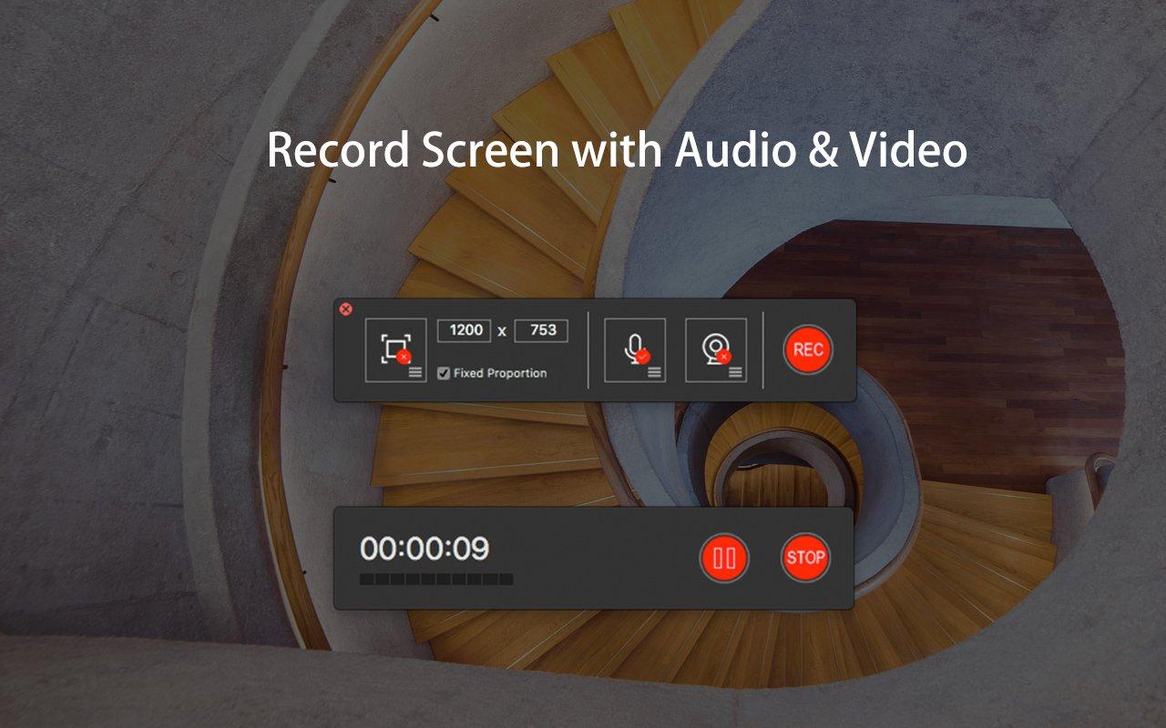 オーディオビデオキャプチャを記録する