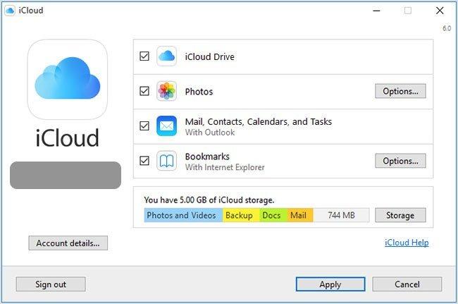 Доступ к фотографиям iCloud на ПК