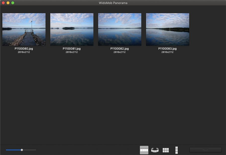 Add Horizontal Panorama Photos