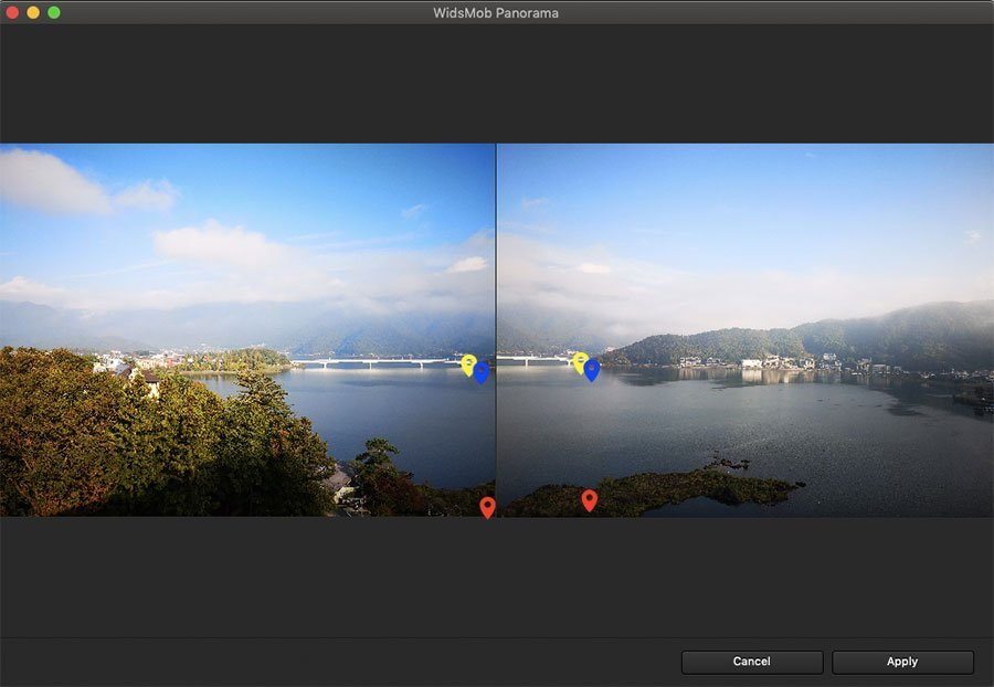 Adjust Point Panorama Image