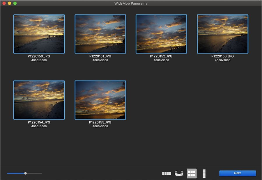Choose Tile Panorama Photos