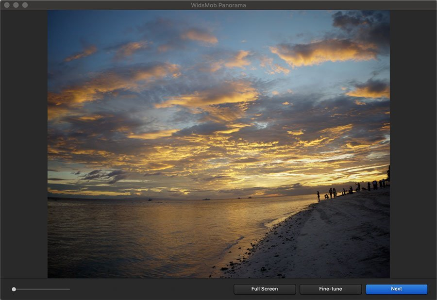 Create Tile Panorama