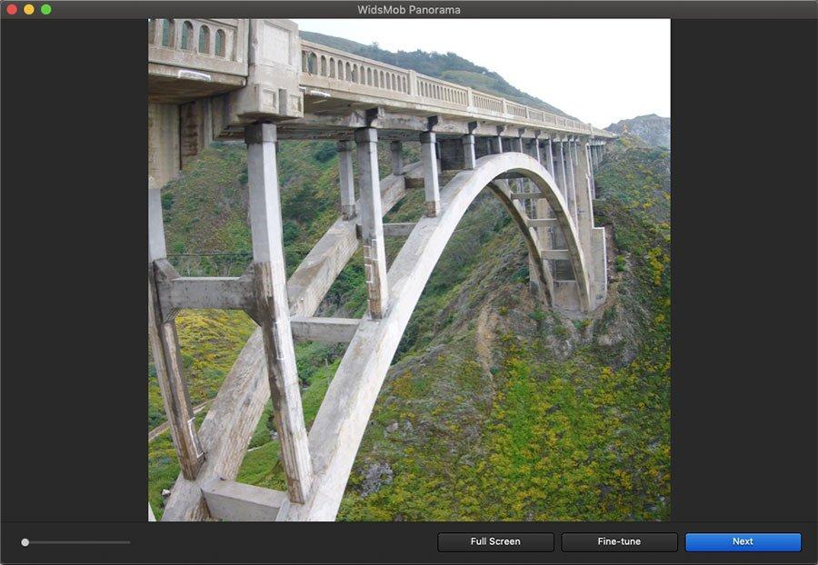 Create Vertical Panorama