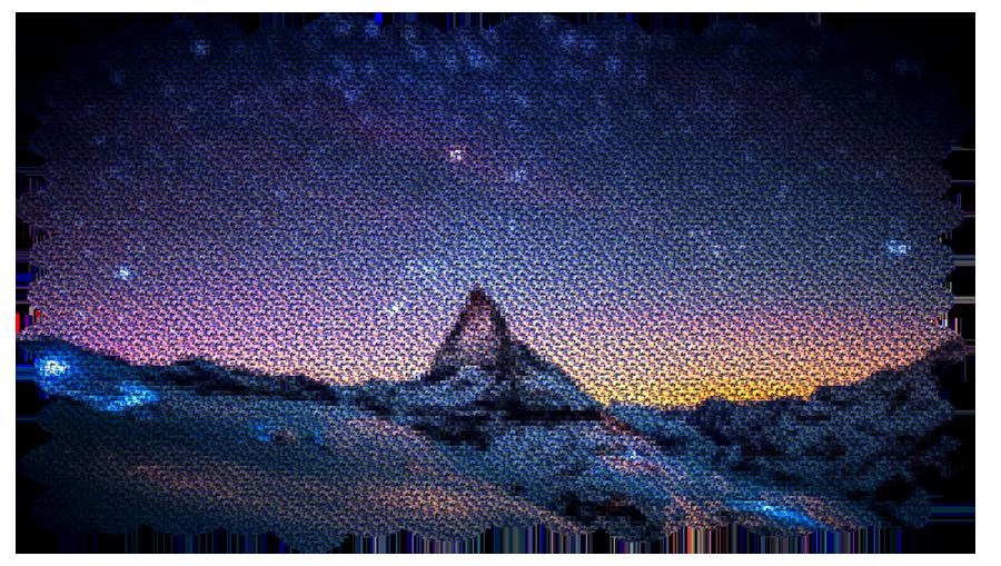 Montage-bild