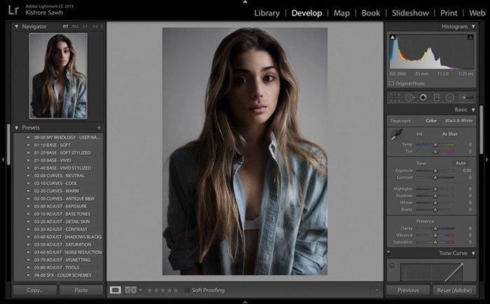 Photoshop VSCO-Voreinstellungen