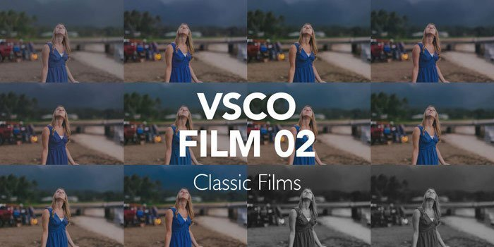Película clásica VSCO