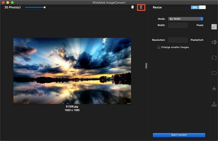 Eliminar ImageConvert