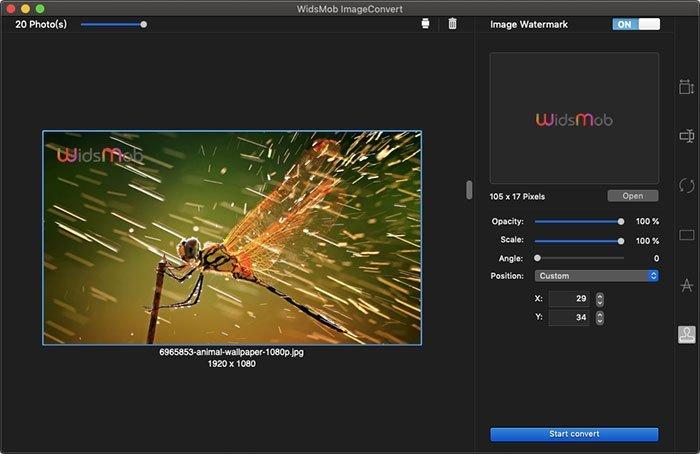 Hình ảnh Watermark ImageConvert