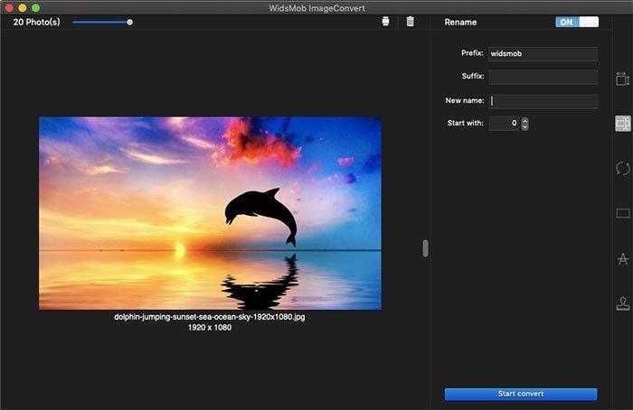 Cambiar el nombre de ImageConvert