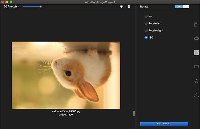 Rotate ImageConvert