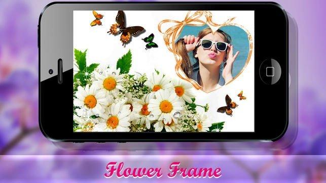 Aplicación Flower Photo Frames & Effects