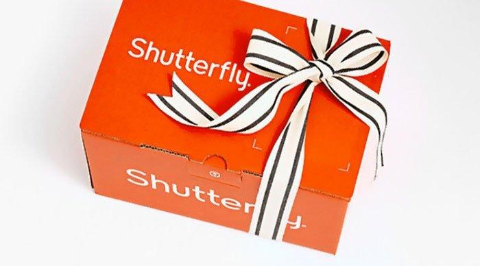Livraison de livre photo Shutterfly