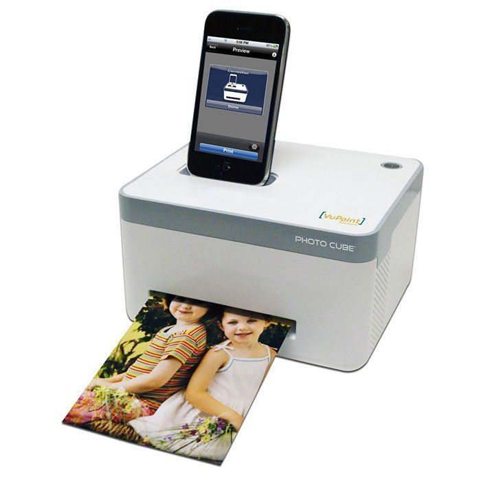 VuPoint Smartphone Photo Cube