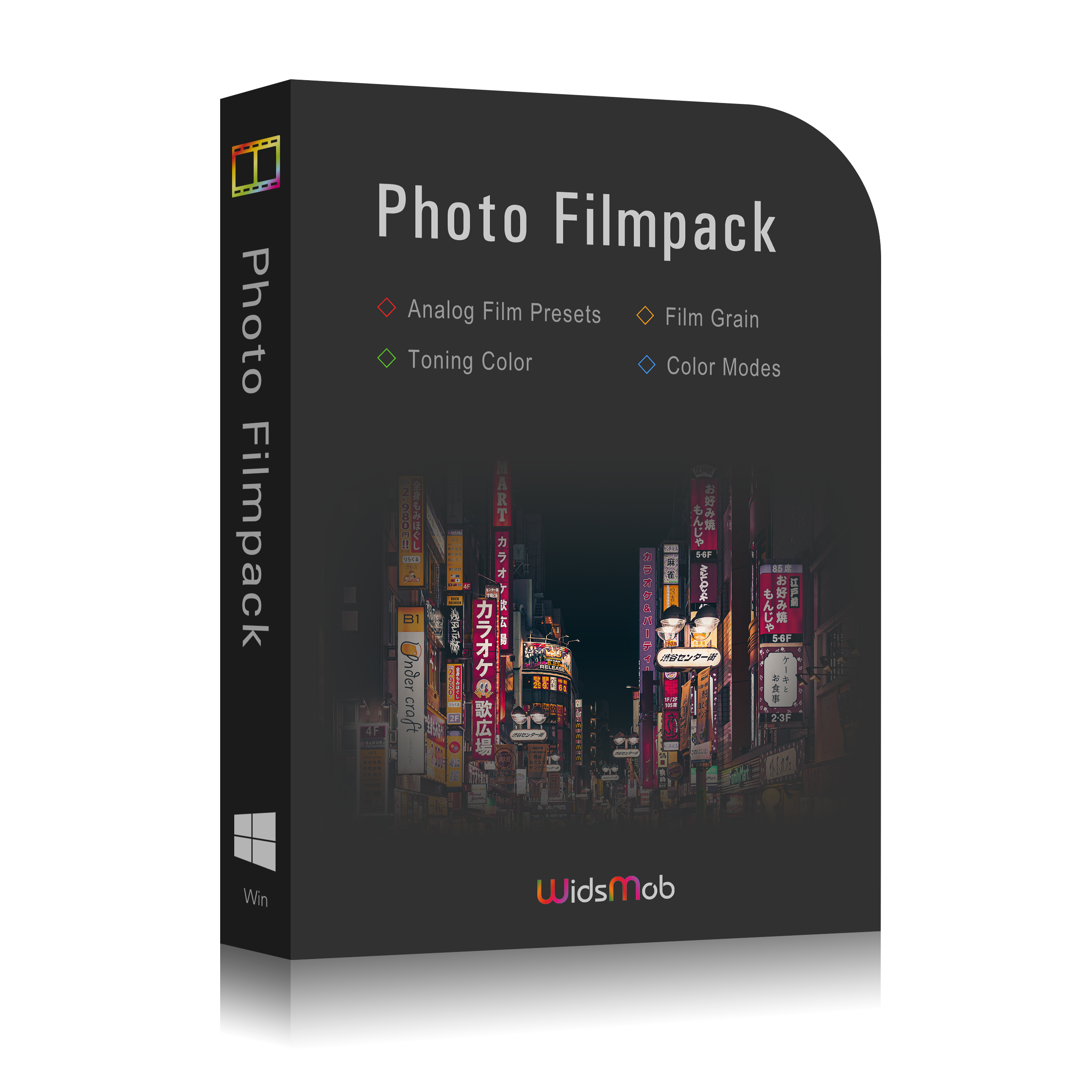 filmpack box win new
