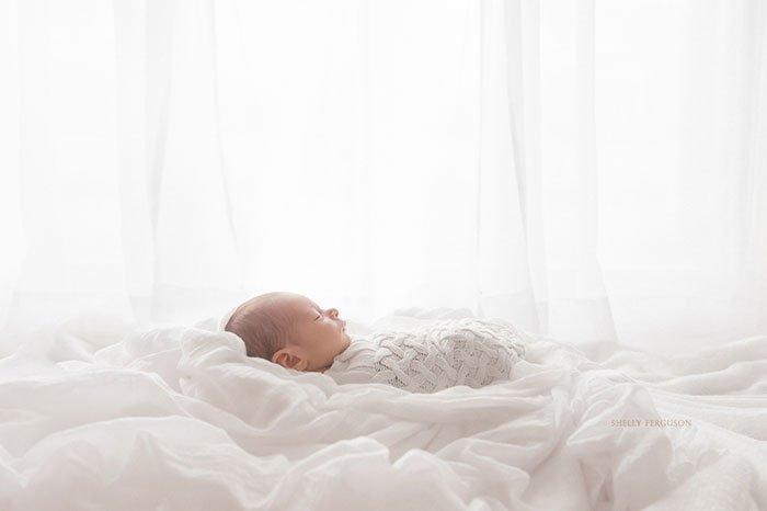 Фото новорожденных с естественным освещением
