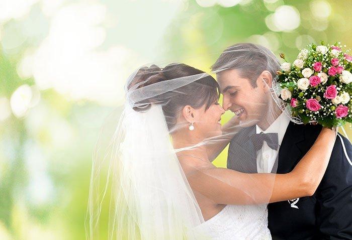 Момент свадебной фотографии