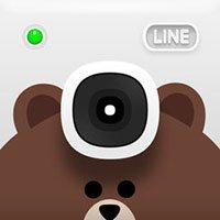 Icona della fotocamera LINE