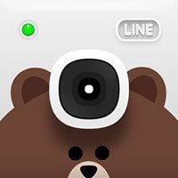 Icono de cámara LINE