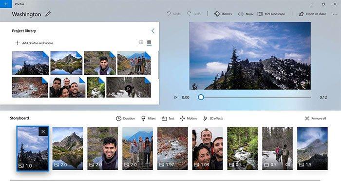 Photos de Windows