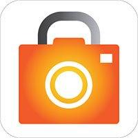 Icono de armario de fotos