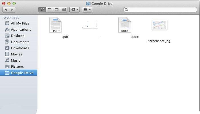 Google Disque Mac