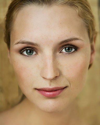 Maquillage de portrait après 1