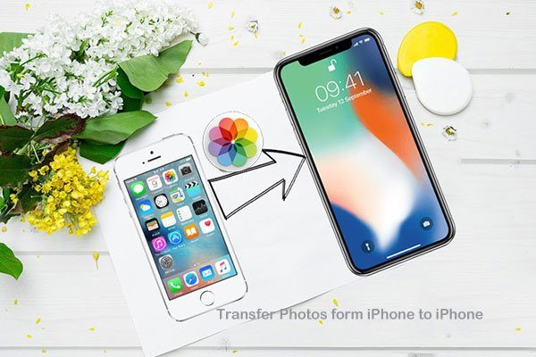Transfer Photos from iPhone to iPhone