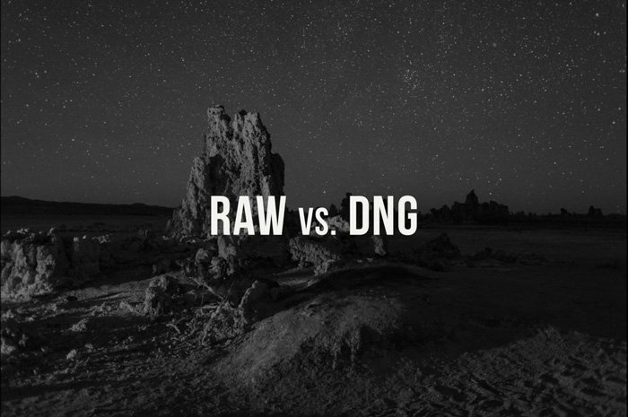 DNG ve RAW