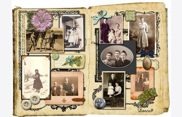 Family Photo Collage Album